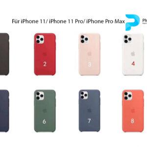 iPhone 11/ 11 Pro/ 11 Pro Max Silikon Hülle